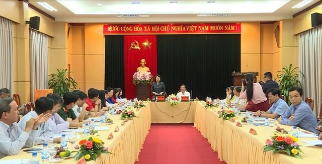 Wapres Viet Nam, Dang Thi Ngoc Thinh: Provinsi Quang Ngai perlu memperhebat keunggulan untuk mengembangkan pariwisata - ảnh 1