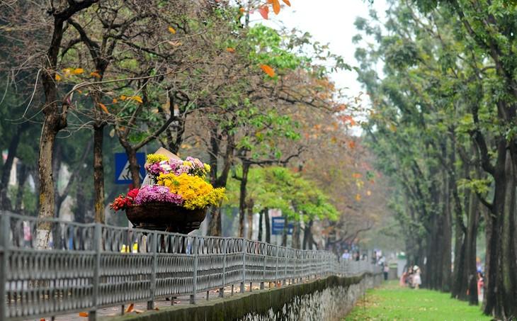 Warna musim gugur Kota Ha Noi - ảnh 13