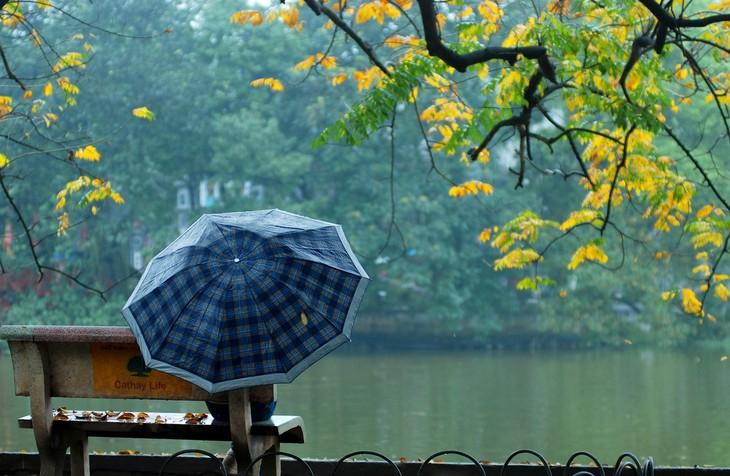 Warna musim gugur Kota Ha Noi - ảnh 17