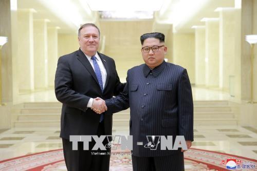 Presiden AS membatalkan rencana kunjungan Menlu Mike Pompeo ke RDRK - ảnh 1