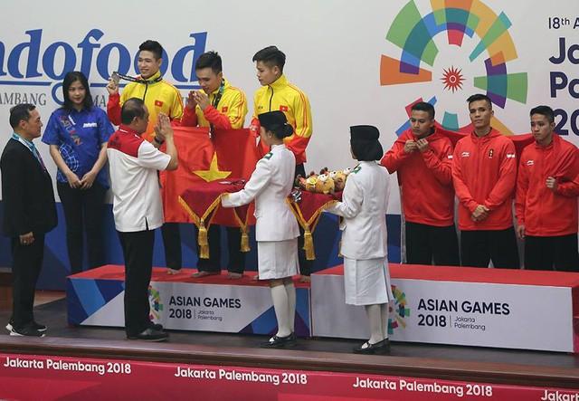 Asian Games 2018: Pencak Silat Viet Nam meraih lagi dua medali perak - ảnh 1