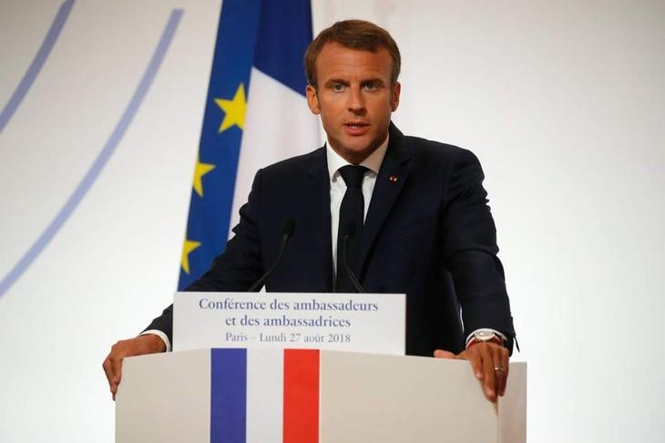 Presiden Perancis: Uni Eropa supaya jangan terus bergantung pada AS - ảnh 1