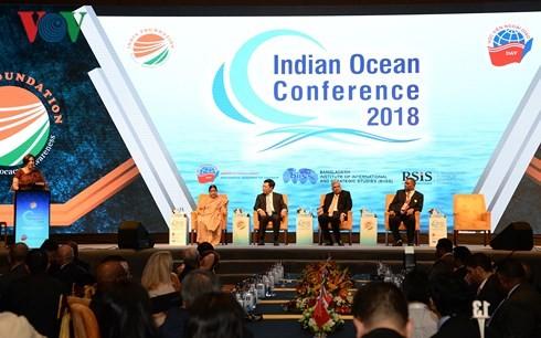 Lokakarya ke-3 Samudera Hindia menekankan arti pentingnya dari keamanan maritim - ảnh 1