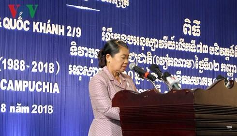 Asosiasi Khmer – Viet Nam di Kamboja resmi unjuk muka - ảnh 1