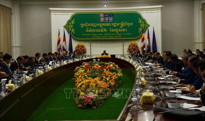 Pemerintah baru Kamboja memprioritaskan usaha membela perdamaian dan perkembangan - ảnh 1