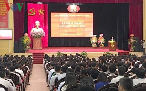 Akademi Politik Nasional Ho Chi Minh memulai tahun kuliah baru 2018-2019 - ảnh 1
