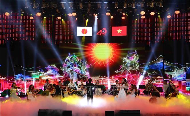 Festival Musik Viet Nam-Jepang memuliakan keindahan kebudayaan Ketimuran - ảnh 1