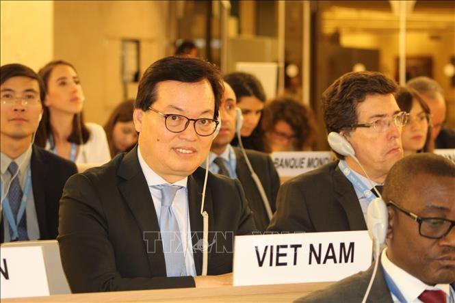 Pembukaan Persidangan periodik Dewan HAM PBB - ảnh 1
