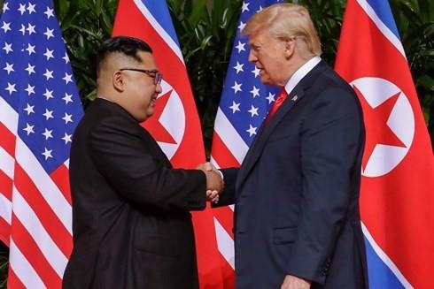 AS sedang membahas pertemuan puncak Trump-Kim yang ke-2 - ảnh 1