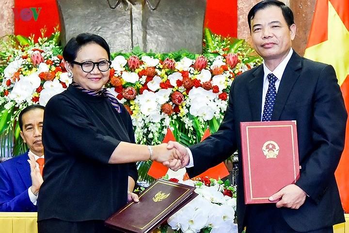 Panorama kunjungan Kenegaraan Presiden Indonesia, Joko Widodo di Viet Nam - ảnh 10