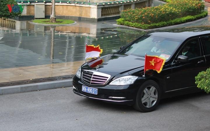 Panorama kunjungan Kenegaraan Presiden Indonesia, Joko Widodo di Viet Nam - ảnh 3