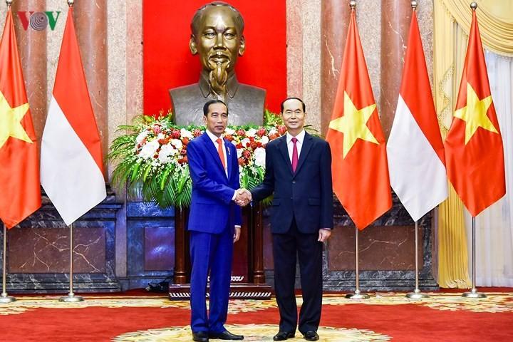 Panorama kunjungan Kenegaraan Presiden Indonesia, Joko Widodo di Viet Nam - ảnh 6