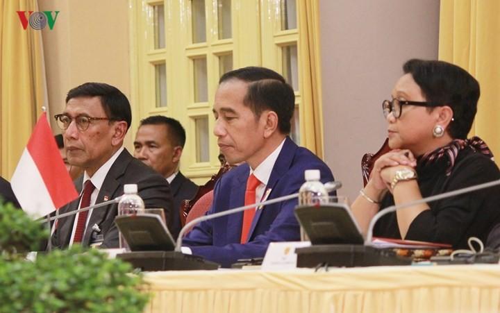 Panorama kunjungan Kenegaraan Presiden Indonesia, Joko Widodo di Viet Nam - ảnh 8