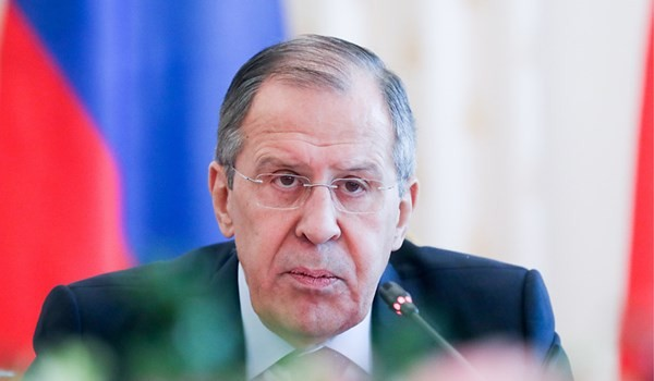 "Menlu Rusia mencela AS tentang kebijakan ""mengenakan sanksi dulu, baru melakukan perundingan"" - ảnh 1"