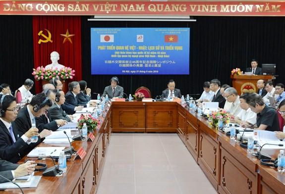 Memperingati ultah ke-45 penggalangan hubungan diplomatik Viet Nam –Jepang - ảnh 1