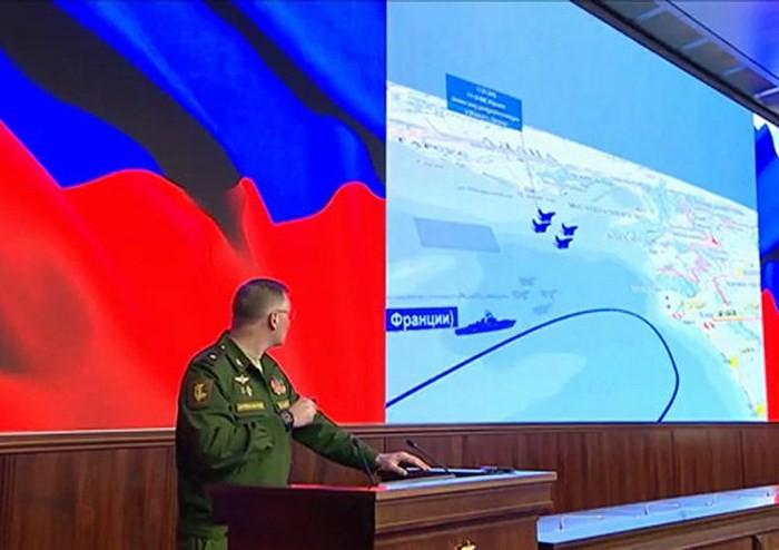 Rusia mengumumkan bukti tambahan tentang kasus tertembaknya pesawat terbang Il-20  - ảnh 1