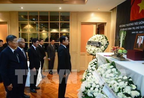 PM dan Menlu Thailand berziarah kepada Presiden Viet Nam, Tran Dai Quang - ảnh 1
