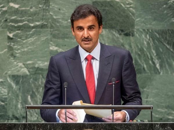 Raja Qatar mencela perintah blokade dari negara-negara Arab di kawasan Teluk  - ảnh 1