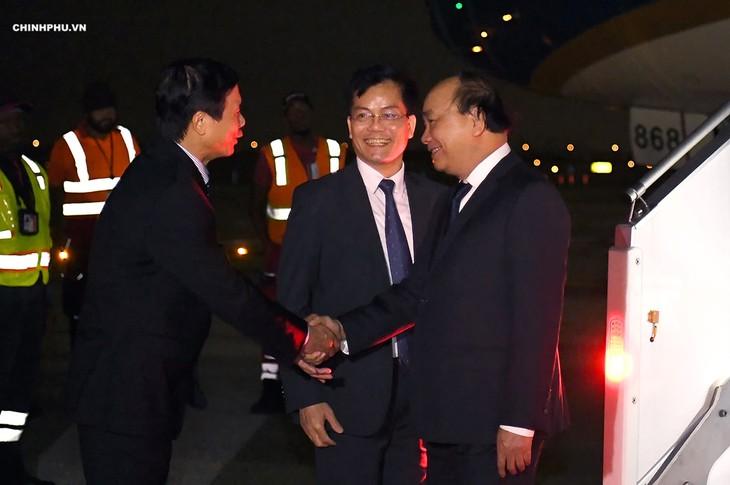 PM Viet Nam, Nguyen Xuan Phuc datang ke New York untuk menghadiri sidang perdebatan umum MU PBB - ảnh 1
