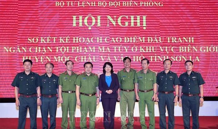 Penjabat Presiden Viet Nam, Dang Thi Ngoc Thinh melakukan kunjung kerja di Provinsi Son La - ảnh 1