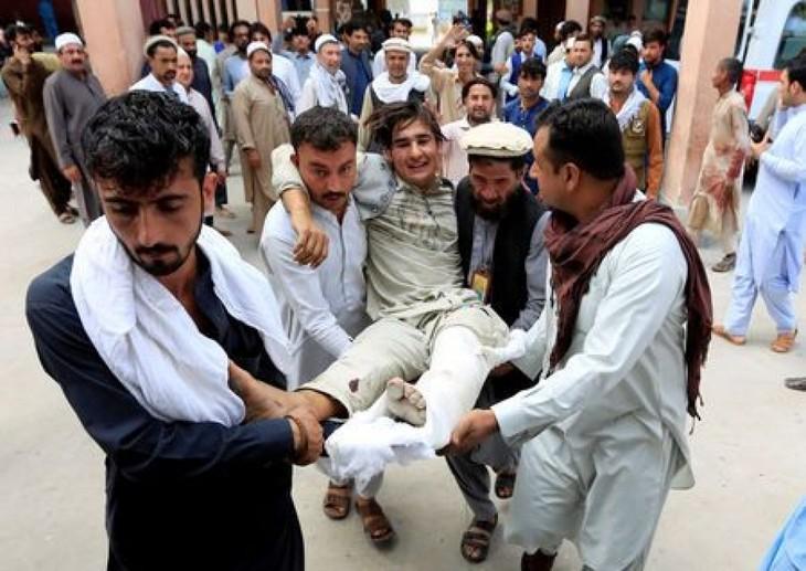 IS mengakui telah melakukan serangan bom dalam kampanye pemilihan di Afghanistan - ảnh 1