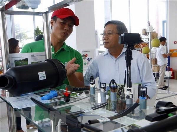 Acara peresmian tempat konektivitas penawaran – permintaan teknologi yang pertama di daerah dataran rendah sungai Mekong - ảnh 1