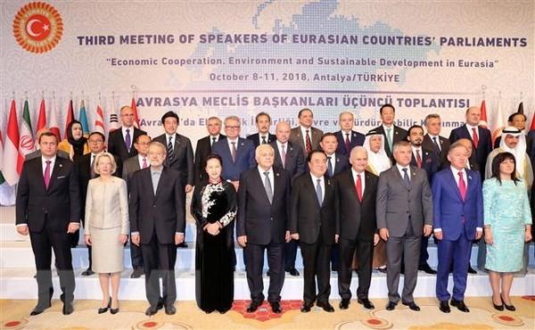 Pembukaan Konferensi ke-3 Ketua Parlemen Asia-Eropa - ảnh 1