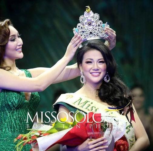 Untuk pertama kalinya Viet Nam mempunyai wakil yang menjadi Ratu Kecantikan Bumi - ảnh 1