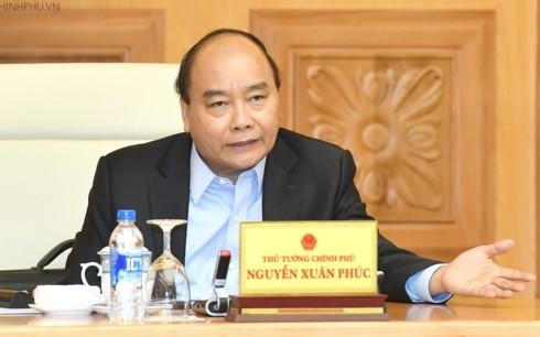 PM Viet Nam, Nguyen Xuan Phuc memimpin pembuatan Resolusi Pemerintah nomor 01 tahun 2019 - ảnh 1