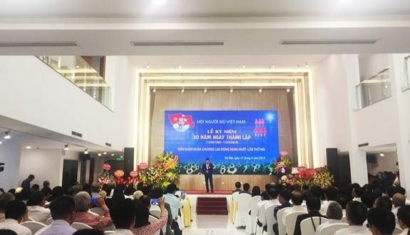 Memperingati ultah ke-50 hari berdirinya Asosiasi Tuna Netra Vietnam - ảnh 1