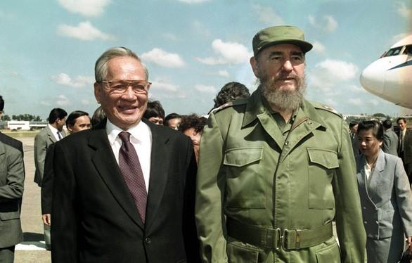 Momen-momen yang mengesankan tentang mantan Presiden Vietnam, Le Duc Anh - ảnh 11