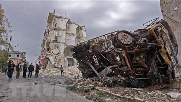 Baku tembak mengalami eskalasi di Suriah Barat Laut - ảnh 1