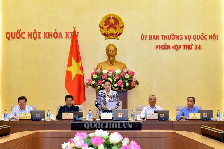 Pembukaan persidangan ke-34 Komite Tetap MN Vietnam - ảnh 1
