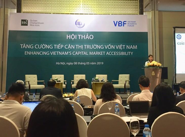 Memperkuat pendekatan pasar modal Vietnam - ảnh 1