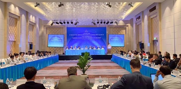Forum ASEM sepakat memperkuat koordinasi untuk mendorong perkembangan yang bersifat mencakup tentang sosial-ekonomi - ảnh 1