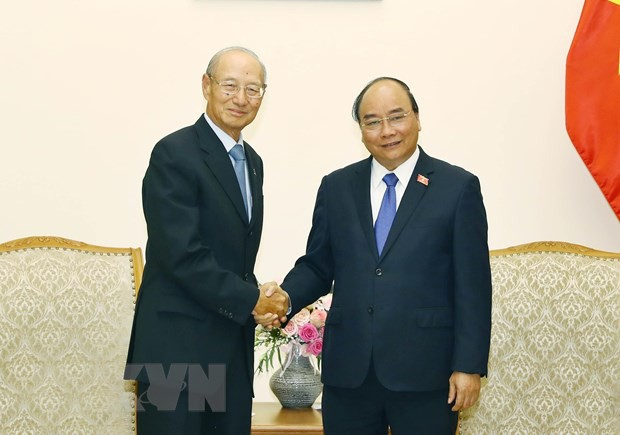 PM Vietnam, Nguyen Xuan Phuc menerima Presiden Grup CapitalLand (Singapura) - ảnh 1