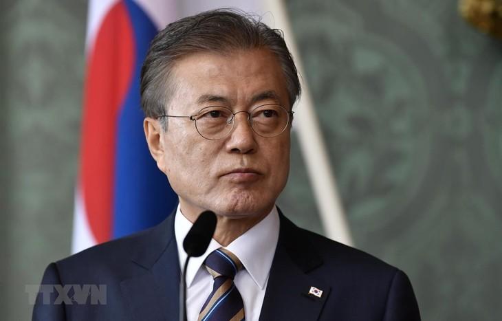 Republik Korea mendesak kepada RDRK supaya melakukan denuklirisasi yang berdasarkan pada kepercayaan - ảnh 1
