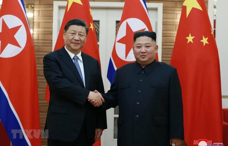 RDRK dan Tiongkok mencapai kebulatan pendapat tentang banyak masalah penting - ảnh 1