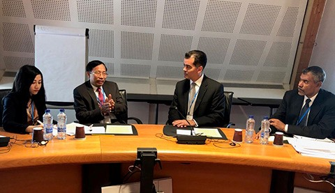 Vietnam dan AS menggelarkan secara efektif Perjanjian tingkat pemerintah tentang kerjasama dan bantuan satu sama lain di bidang beacukai - ảnh 1