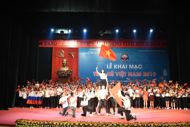 Pembukaan Perkemahan musim panas Vietnam tahun 2019 - ảnh 1