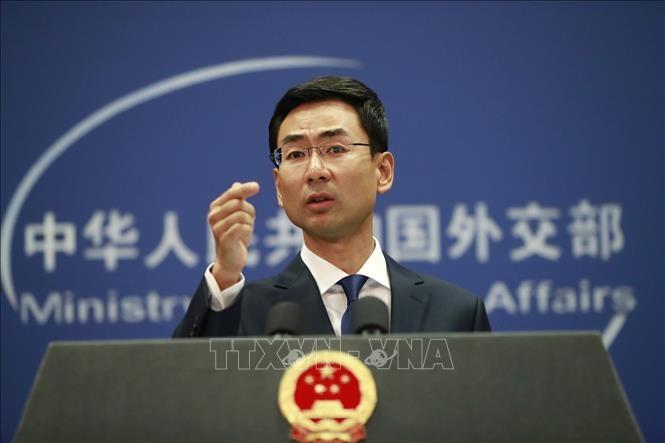 Tiongkok memperingatkan akan mengenakan sanksi terhadap perusahaan AS yang bersangkutan dengan transaksi dagang tentang senjata dengan Taiwan - ảnh 1