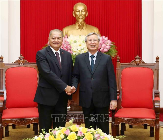 Memperhebat kerjasama Vietnam-Laos - ảnh 1