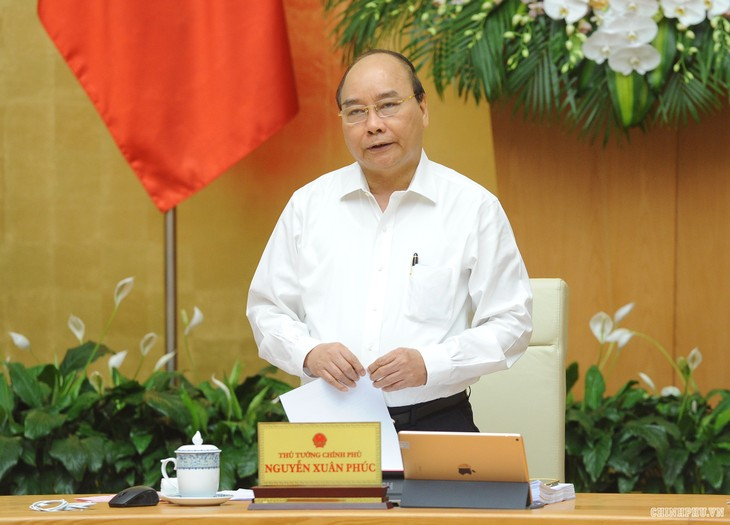 PM Vietnam, Nguyen Xuan Phuc memimpin Sidang tematik tentang penyusunan legislasi - ảnh 1