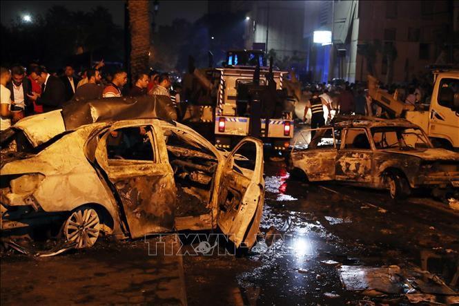 Presiden Mesir menegaskan ledakan di Kairo, Mesir adalah tindakan teror - ảnh 1