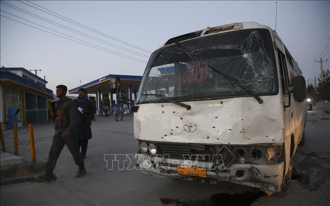 Ledakan besar di Ibukota Afghanistan mengakibatkan puluhan orang yang menderita luka-luka - ảnh 1