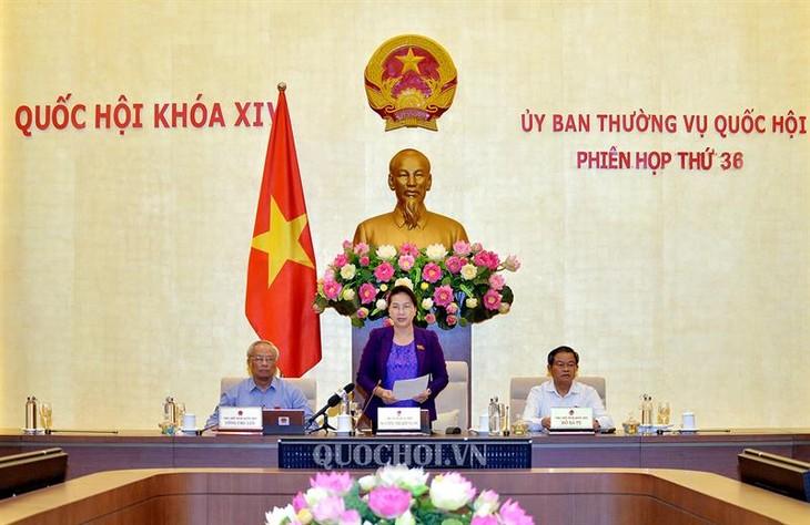 Acara penutupan Persidangan ke-36 Komite Tetap MN angkatan XIV - ảnh 1