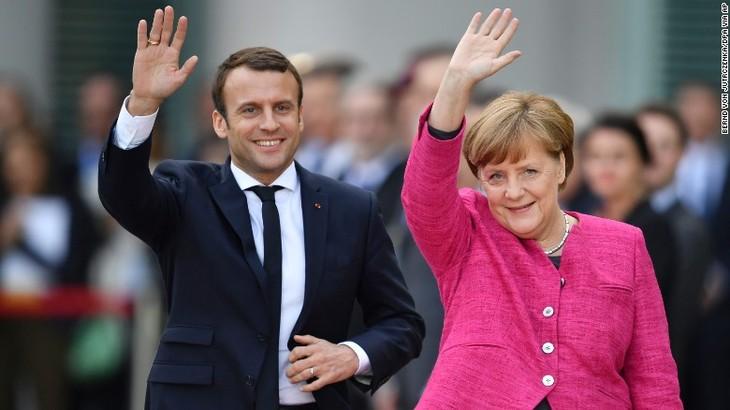 France, Germany urge peaceful solution to North Korea crisis - ảnh 1
