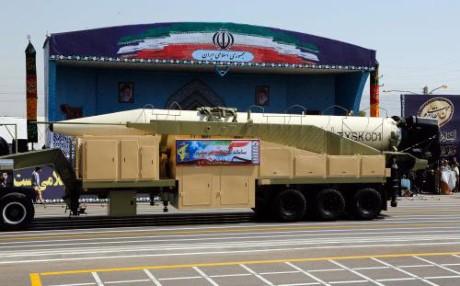 Iran tests new ballistic missile - ảnh 1