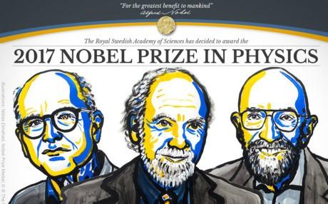 Physics Nobel prize 2017 honors gravitational waves project - ảnh 1