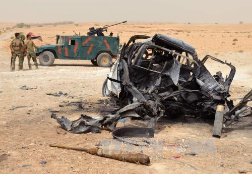 10 killed in suicide bomb attack in Anbar province - ảnh 1